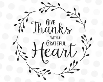 385 Give Thanks free clipart.