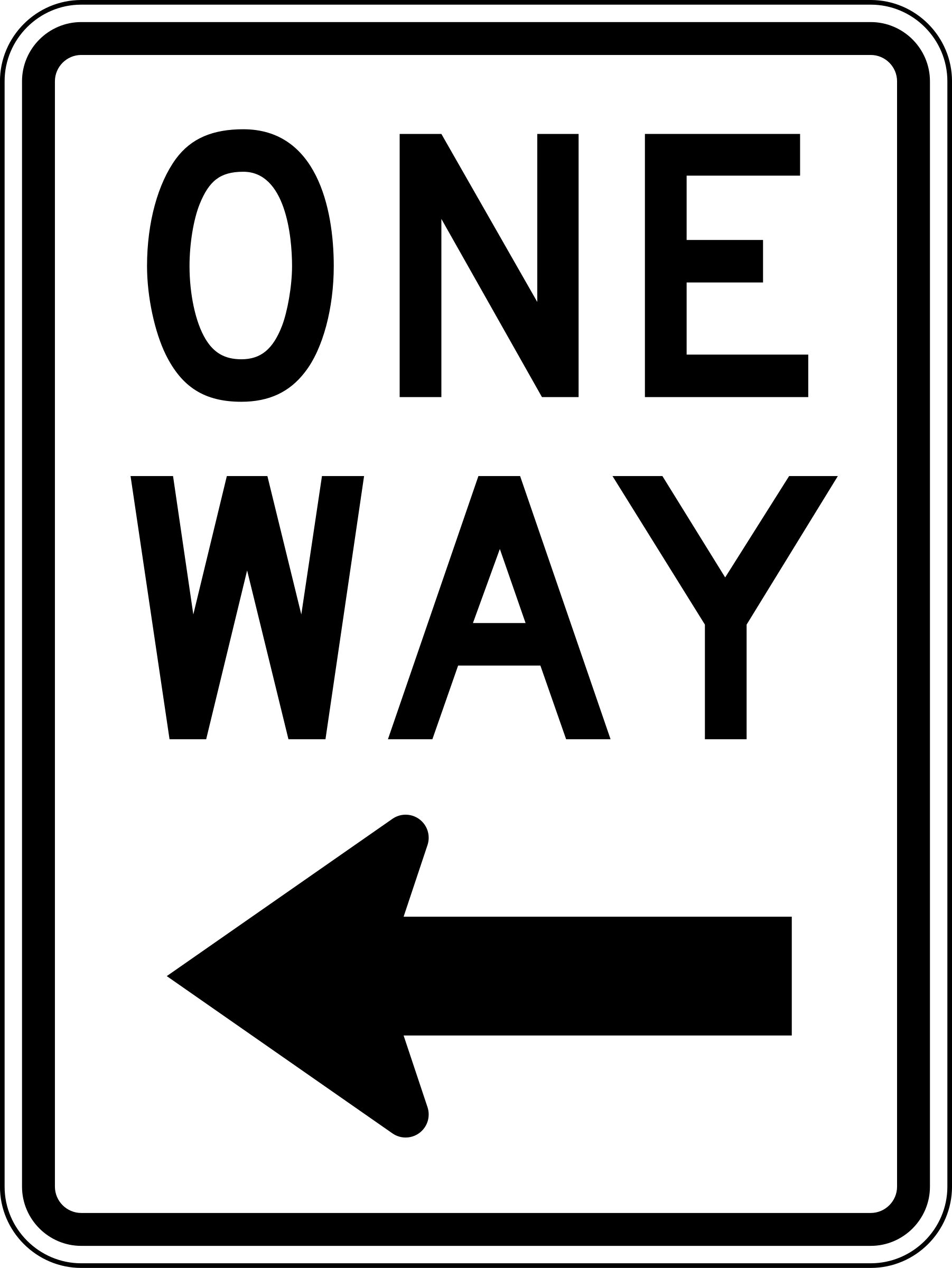 one way clipart clipground