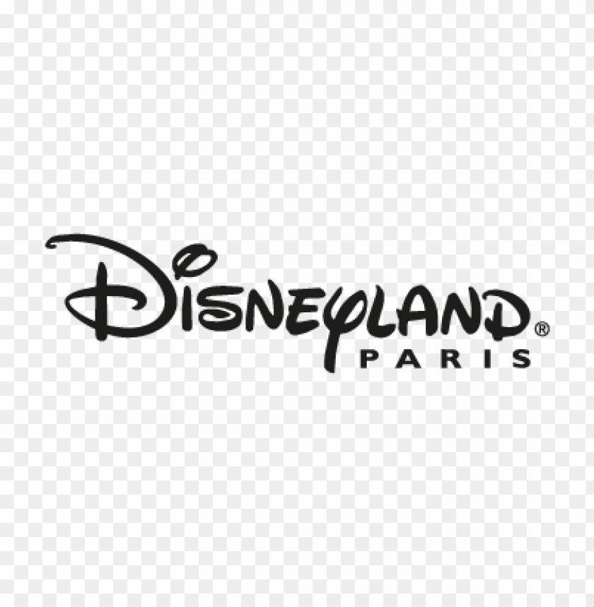 disneyland paris vector logo free.