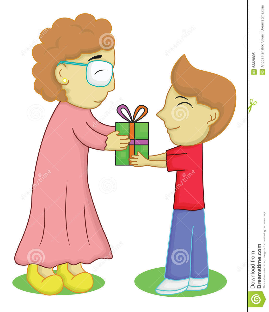 Giving gift clipart 4 » Clipart Station.