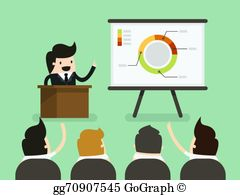 Giving A Presentation Clip Art.