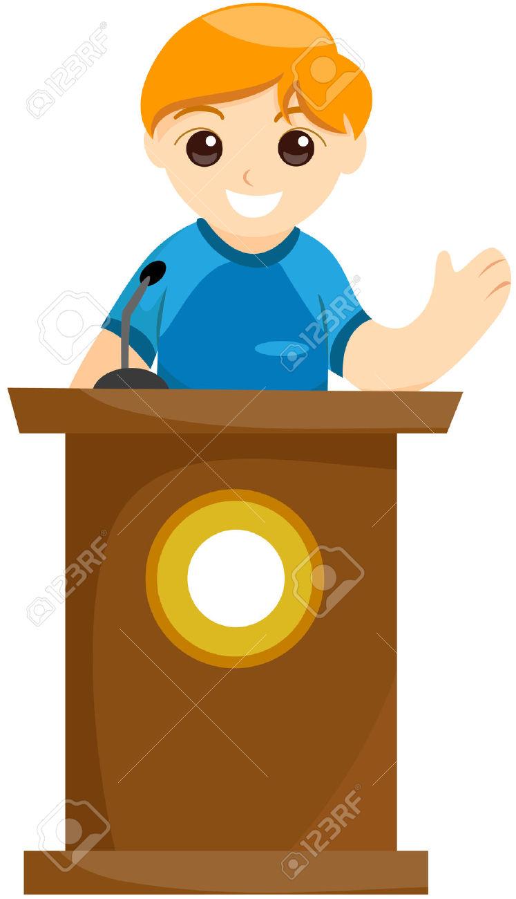 Kids Speech Clipart.