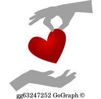 Giving Heart Clip Art.
