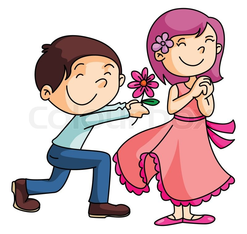 Giving flowers clipart 5 » Clipart Station.