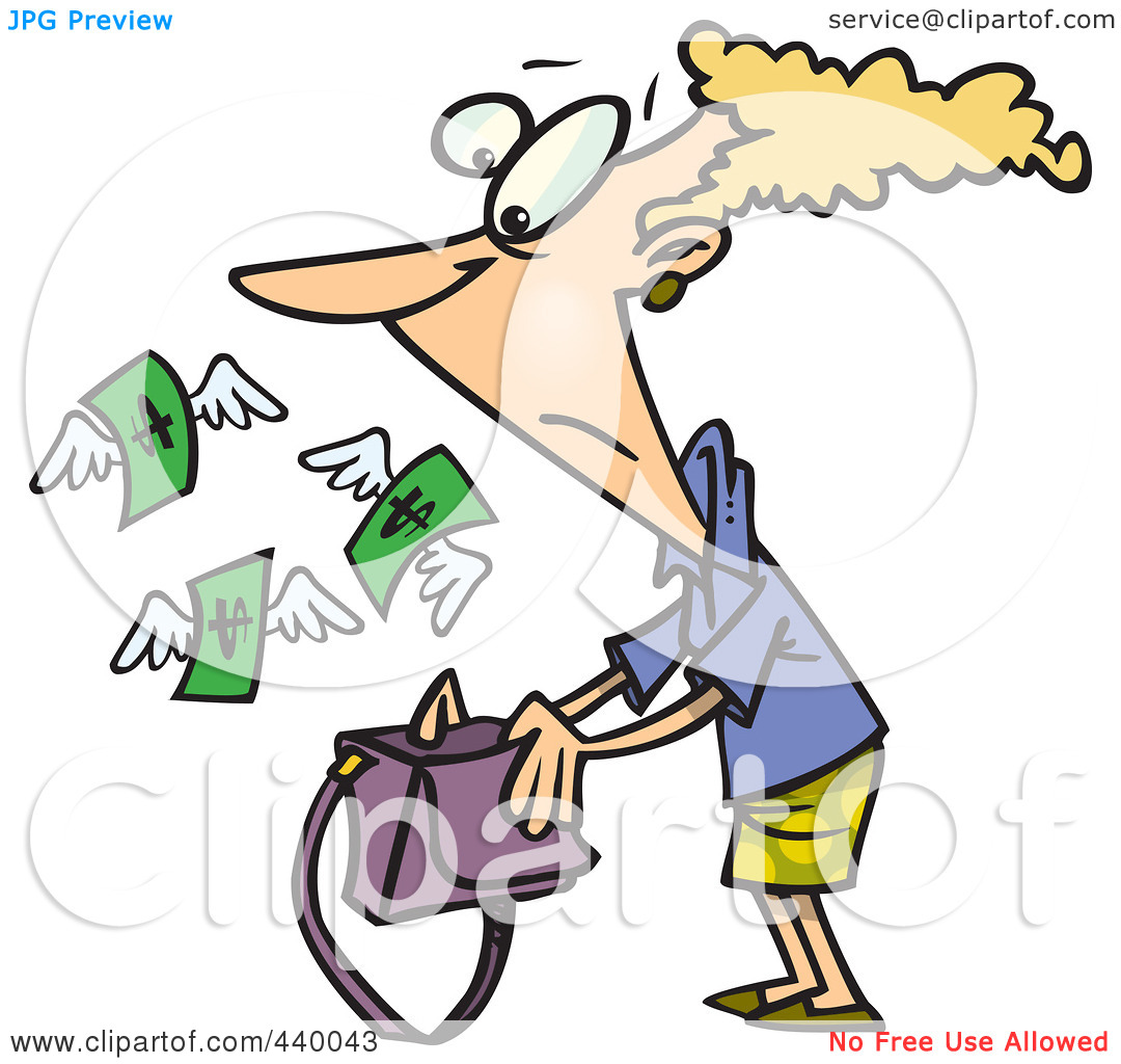 Giving Money Clipart.
