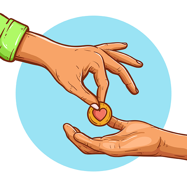 Giving To The Poor PNG Transparent Giving To The Poor.PNG Images.