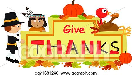Giving thanks clipart 3 » Clipart Station.