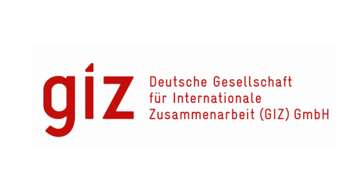 GIZ: The German Society for International Cooperation.