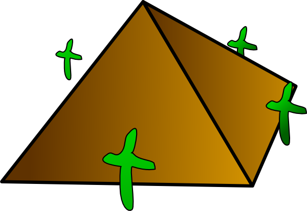 Pyramids Of Giza Clipart.