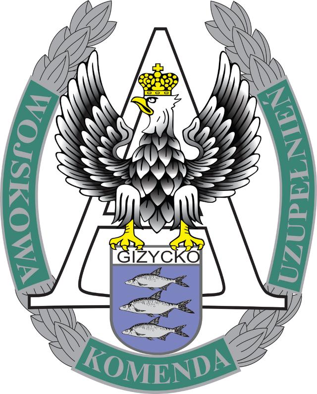 Wojskowa Komenda Uzupełnień w Giżycku.