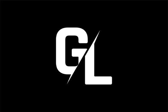 Monogram GL Logo Design.