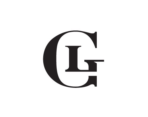 GL Monogram concept for a high fashion label designed by.