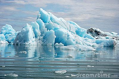 Iceland Glacier Stock Photos.