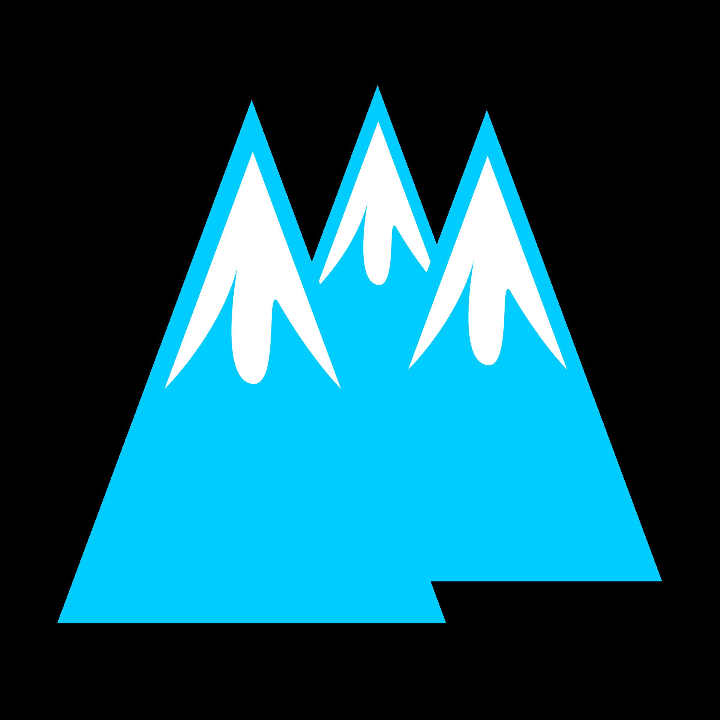 Glacier Clipart.