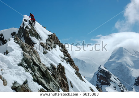 Monte Rosa Glacier Stock Photos, Royalty.