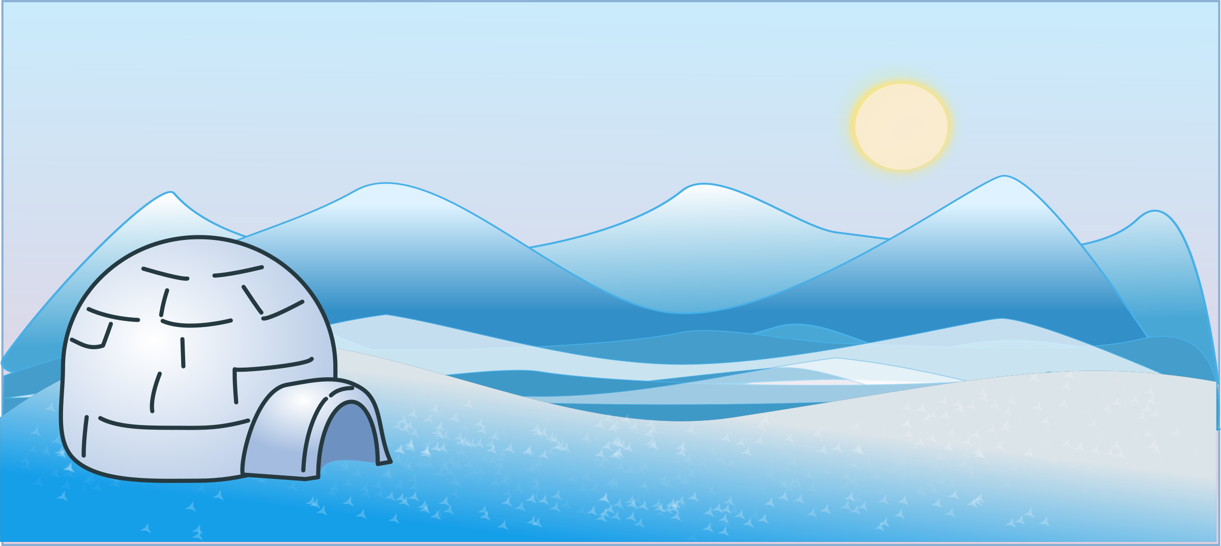 Icy Clipart.
