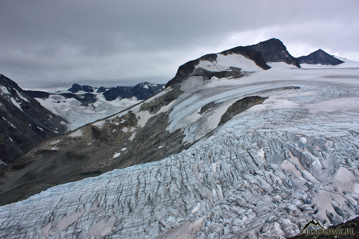 Svellnosbreen glacier : Photos, Diagrams & Topos : SummitPost.