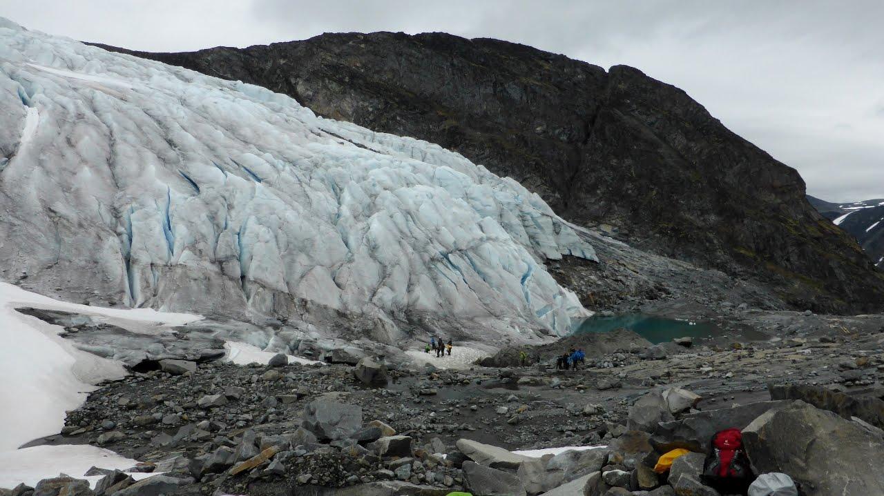 Svellnosbreen Glacier, Jotunheimen, Norway.