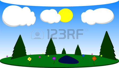 Glade clipart #11