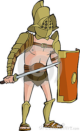 Gladiator Clipart Page 1.