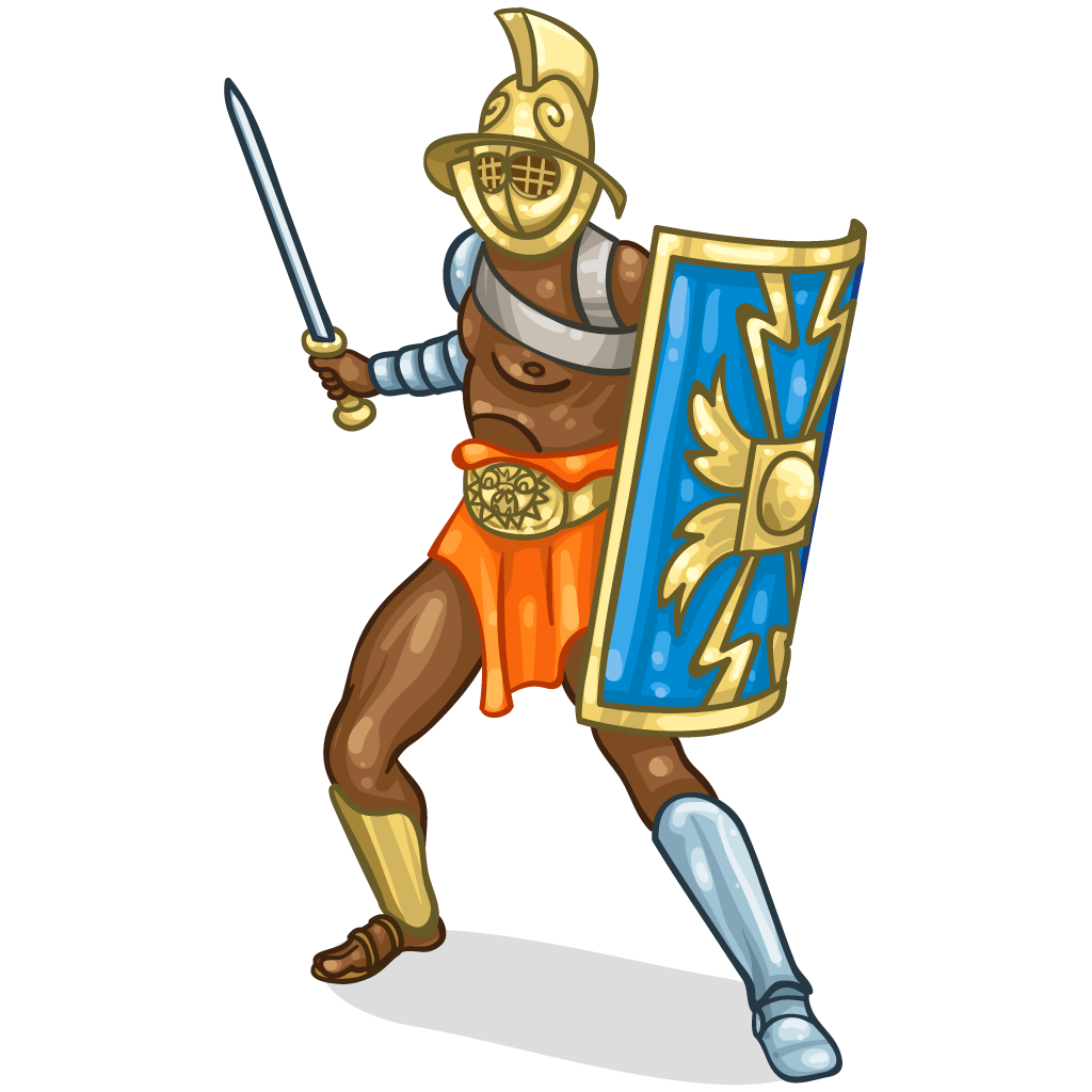 Roman gladiator clipart clipart images gallery for free download.