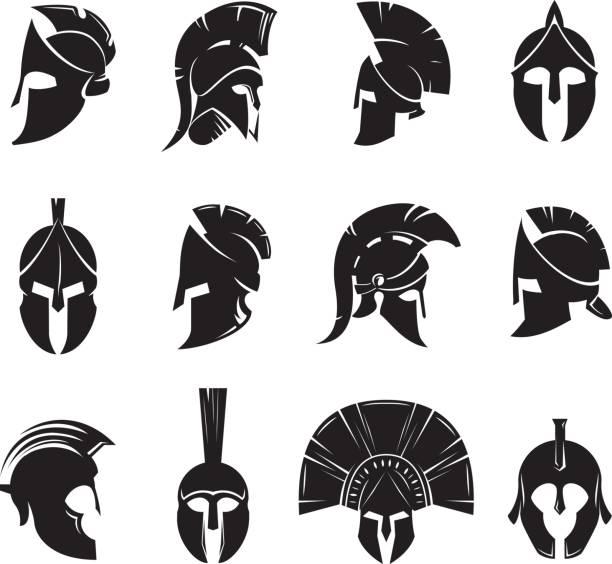 Best Gladiator Helmet Illustrations, Royalty.