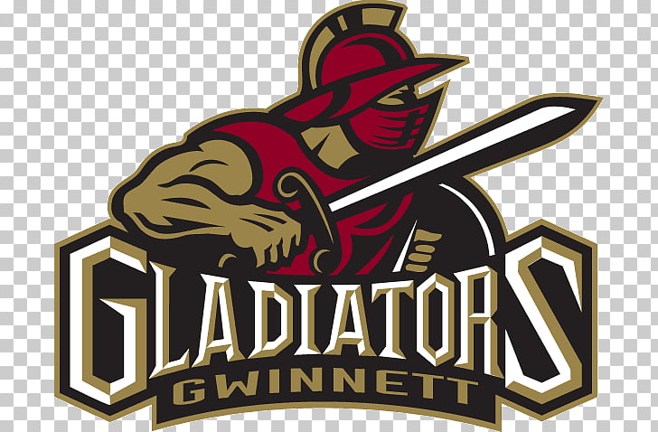 Atlanta Gladiators Logo ECHL Ice hockey, gladiator PNG.