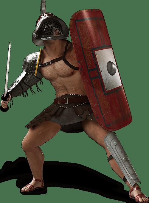 Gladiator transparent PNG.