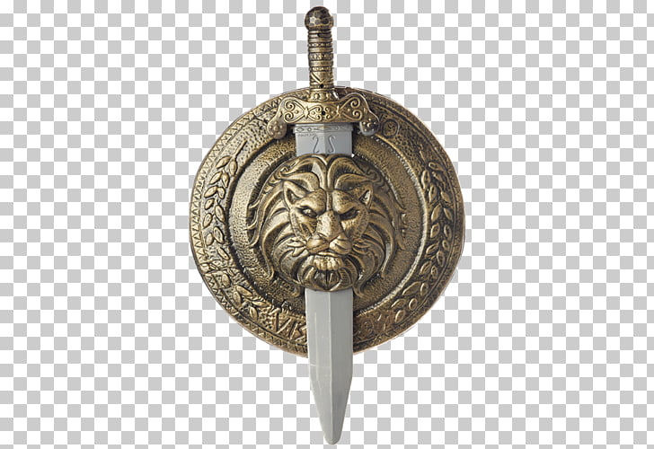 Gladiator Shield Costume Sword Weapon, gladiator PNG clipart.