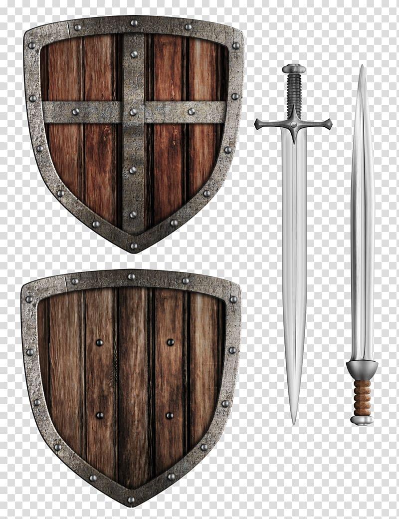 Shield Illustration, Gladiator Shield transparent background.