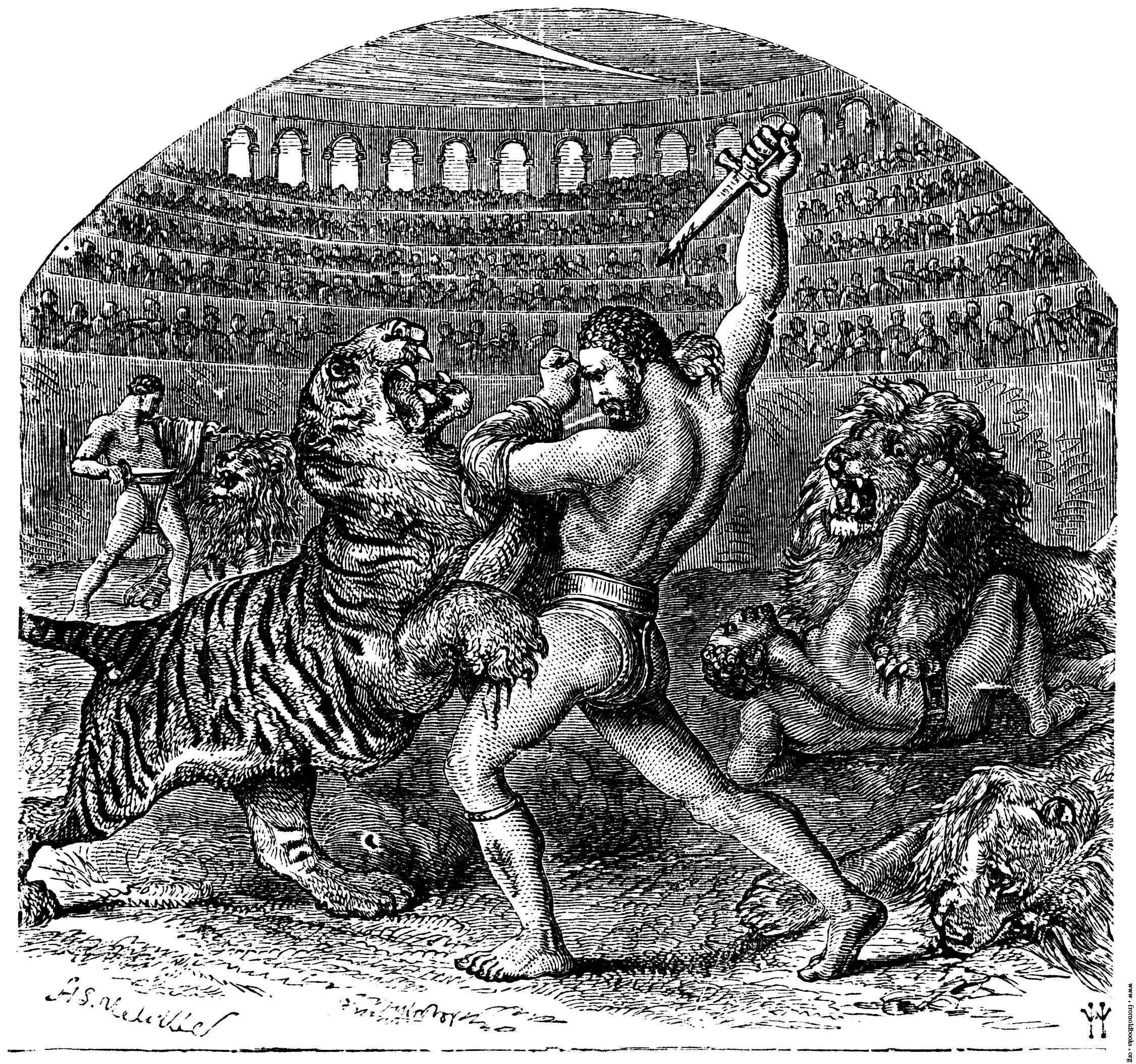 Gladiator Games By: Amada Hernandez.