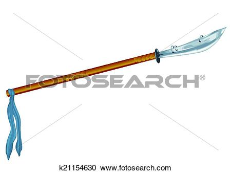 Clipart of glaive k21154630.
