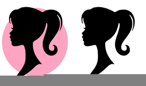Free Glam Girl Clipart.