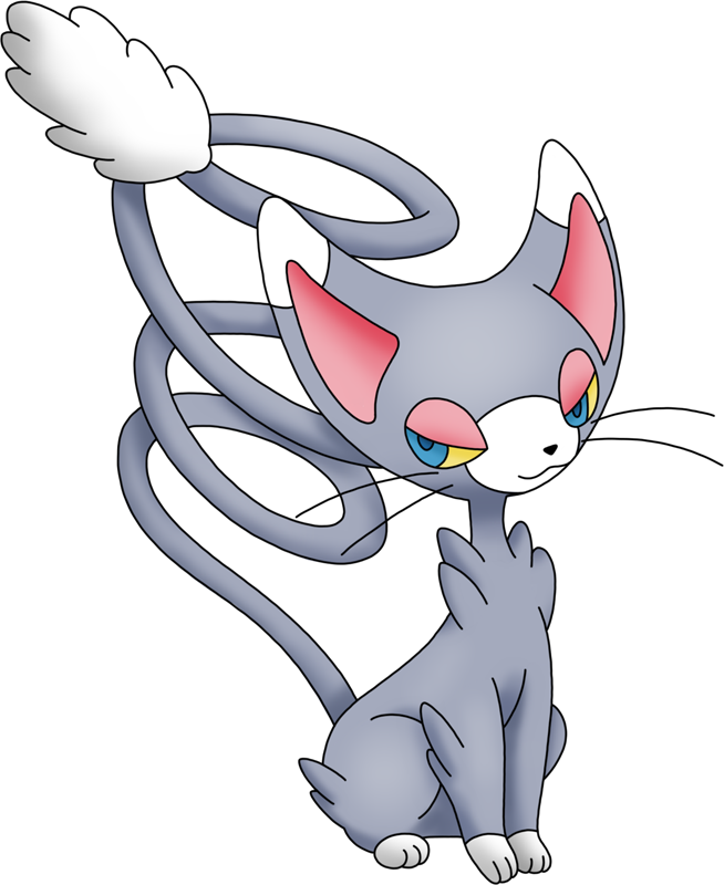 Glameow Pokédex: stats, moves, evolution, locations & other forms.