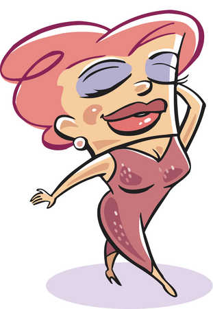 Gallery For > Glamour Cartoon Clipart.