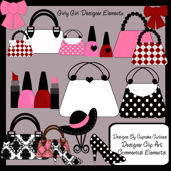 Glamour clipart.