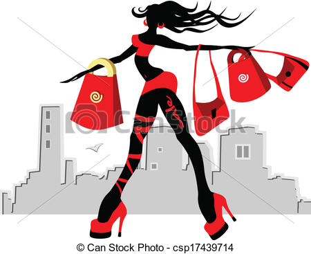 Free glamour girl clipart.