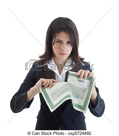 Stock Photo of Angry Caucasian woman glaring at the camera while.