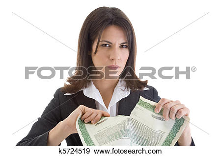 Stock Photograph of Angry Caucasian woman glaring at the camera.