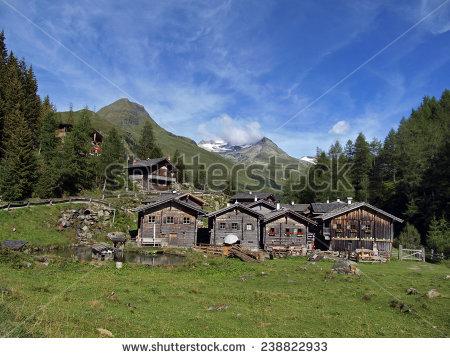 Mountain Village Stock Photo 2073174.