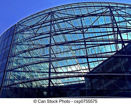 Stock Bilder von Fassade, glas.