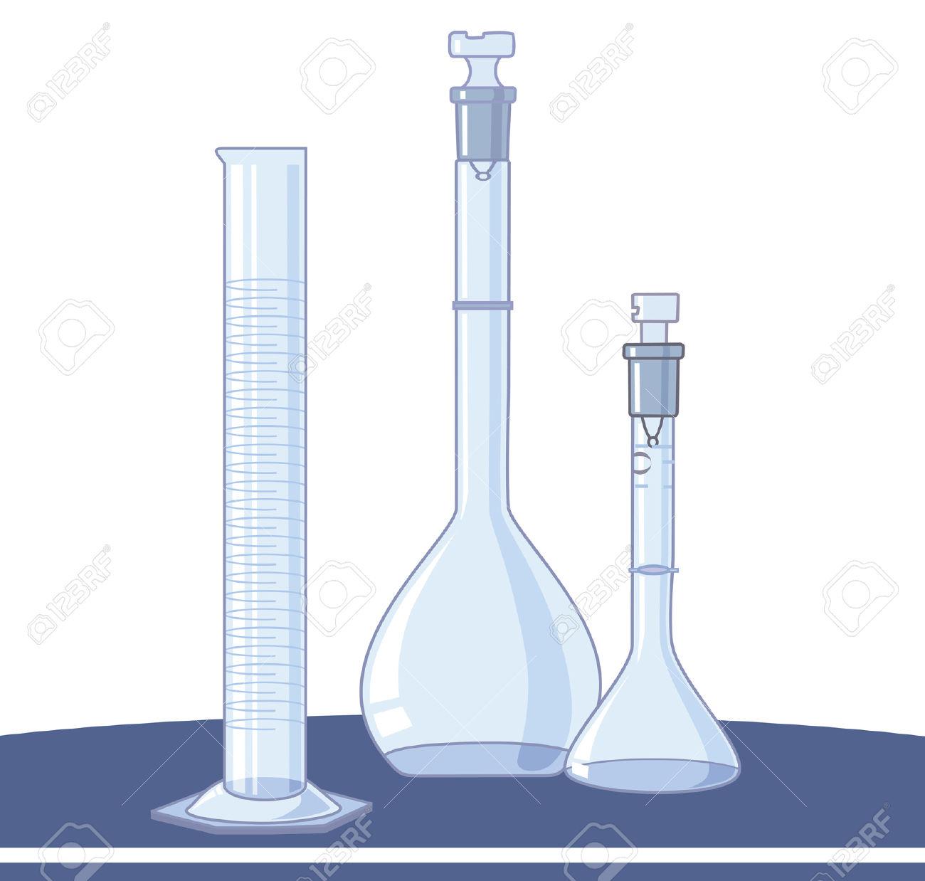 Laboratory glassware clipart free.