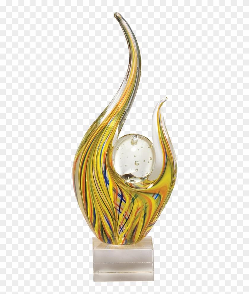 Glass Award Png Transparent Image.