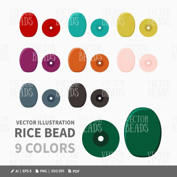 1000+ images about Beads Vector Graphics on Pinterest.