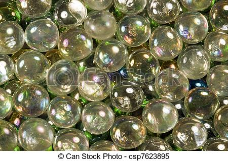 Glass Beads Clipart.