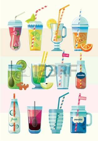1,250 Berry Smoothie Stock Illustrations, Cliparts And Royalty.