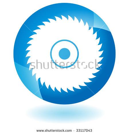 Circular Saw Blade Glass Stock Photo 33117043 : Shutterstock.