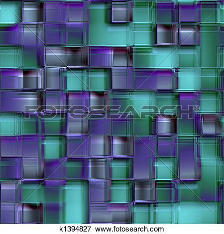 Stock Illustration of glass blocks k1394827.