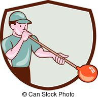 Glassblowing Illustrations and Clipart. 20 Glassblowing royalty.