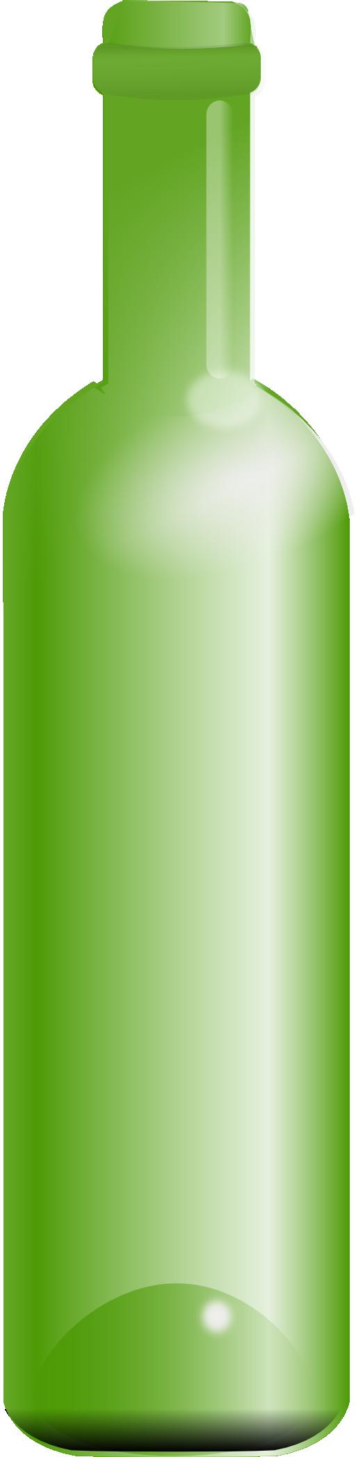Clip Art Empty Glass Bottles Clipart.